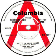Putty in Your Hands/One Fine Day Columbia DB 7287 1964