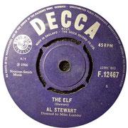 The Elf - Turn Into Earth DECCA F 12467 1966 A