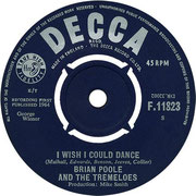 Candy Man / I Wish I Could Dance - Decca - UK - F 11823 1964