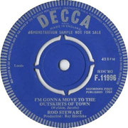 'Good Morning Little Schoolgirl'/'I'm Gonna Move to the Outskirts of Town' Decca F 11996 1964 side B