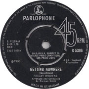 Getting Nowhere/And (To Me He Meant Everything) Parlophone R 5396 1966 side A