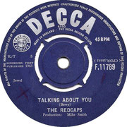 the-redcaps-talking-about-you-1963 DECCA F 11789 1963 side A