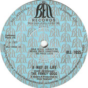 A Way of Life/Throw It Away Bell BLL 1055 1969