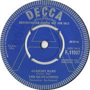 the-quotations-uk-alright-baby-1964-DECCA F 11907 1964
