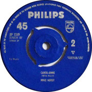 Carol Anne/Anytime That You Want Me Philips BF 1319 1964 side 2