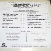 Abstractions Of The industrial North De Wolfe DW LP 2973 1966 Back