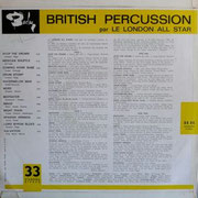 British Percussion BARCLAY BB 86 1965 FRA back