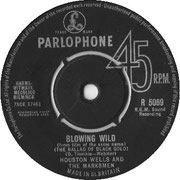 Blowing Wild/Crazy Dreams Parlophone R 5069 1963