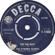 'Come on Let's Go'/'Pop the Whip' Decca F 11800 1964