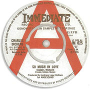 So Much in Love/Our Soul Brother TH Immediate IM 025 1966