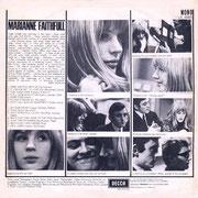 Marianne Faithfull Decca LK 4689 1965