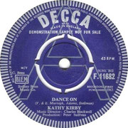 kathy-kirby-dance-on-1963 Decca F 11682