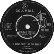 'Bald Headed Woman'/'I Just Can't Get to Sleep' Columbia DB 7385 1964 side A
