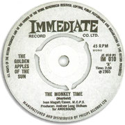 'The Monkey Time'/'Chocolate Rolls, Tea and Monopoly' Immediate IM 010 1965