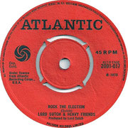 'Election Fever'/'Rock the Election' Atlantic 2091 017 1970