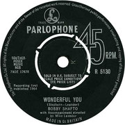 'She's My Girl'/'Wonderful You' Parlophone R 5130 1964 side B