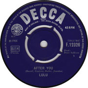 'Call Me'/'After You' Decca F 12326 1966