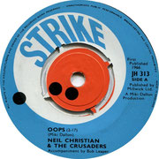 Oops/She Said Yeah Strike JH 313 1966