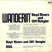 Royd Rivers And Cliff Aungier Wanderin' DECCA LK 4696 1965 bk