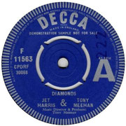 Diamonds/Hully Gully Decca F 11563 1963 A side