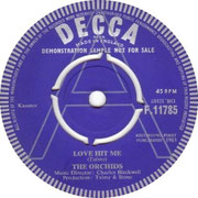 'Love Hit Me'/'Don't Make Me Mad' Decca F 11785 1963 side A