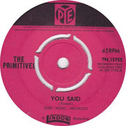 You Said/How Do You Feel Pye 7N 15755 1964 side 1