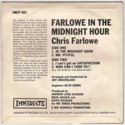 Farlowe In The Midnight Hour Immediate IMEP 001 1965