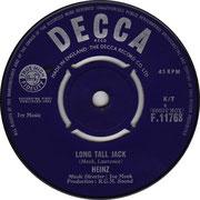 Country Boy/Long Tall Jack Decca F 11768 1963 B side