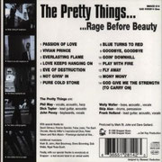 Rage Before Beauty Snapper Music 128142 1999 back
