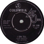 the-zephyrs-i-can-tell-columbia DB 7199