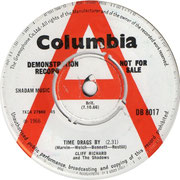 'Time Drags'/'La La La Song' Columbia DB 8017 side A