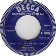 I Do/Don't You Dig This Kinda Beat Decca F 11696 1963 side B