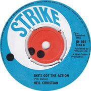 That's Nice/She's Got The Action Strike JH 301 1966