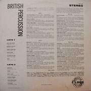 British Percussion BARCLAY SIBS 1004 1966 ITA back