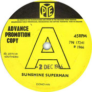 Sunshine Superman/The Trip Pye 7N 17241 1966
