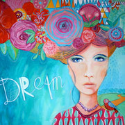 """""""DREAM"""" - 100 cm x 81 cm"""
