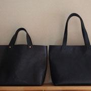 midnight blue(持ち手通常・リベットコッパ―)/nero(持ち手M・リベットマットブラック)