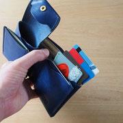 カードはインナーに4枚程度