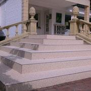 Steinteppich Treppe