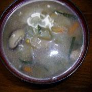 スープ水増し!  夜
