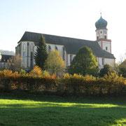 Monastère St.Trudpert dans la vallée Münstertal.