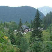 Berggasthof in der Nähe des Feldbergs