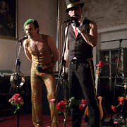 Ankündigung der Band - DR DIVA & FEXA - Foto: Lex Sironi