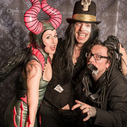 HAYDEE SPARKS, FEXA & PAN PETER @ Angels & Devils - Foto: House of Rough Arts
