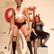 CABARET Intro - Dr Diva & Rachel von Hindman - Foto: House of Rough Arts