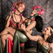 DR DIVA, HAYDEE SPARKS & JANNIS @ Angels & Devils - Foto: House of Rough Arts