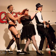 CABARET Intro - Dr Diva, Rachel von Hindman & Fexa - Foto: House of Rough Arts