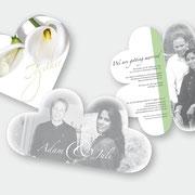 Gestaltung Hochzeitseinladung