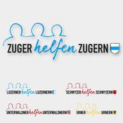 Logodesign für Zuger helfen Zuger  I  2017
