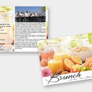 Layout & Design 12er-Chörli – Sonntags-Brunch  I  2019